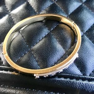 Authentic Coach bangle bracelet in gold